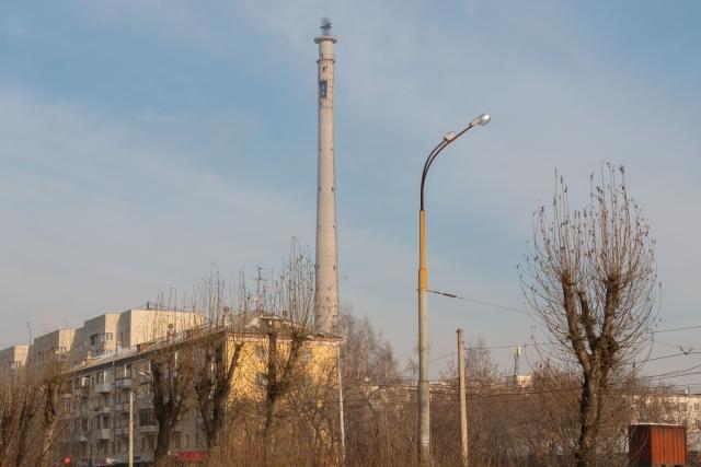 Недостроенная телебашня в Екатеринбурге