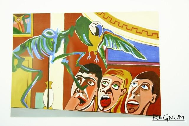Случай на выставке Яна Фабра в Эрмитаже. Елизавета Бенк. Выставка «Кошмарный сон искусствоведа»