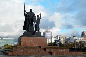 Памятник героям фронта и тыла. Пермь
