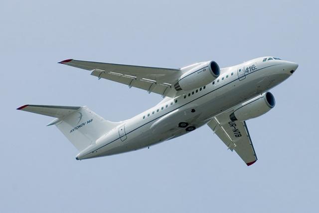 Пассажирский Ан-148 упал в Раменском районе Подмосковья
