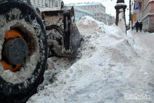 «Одна показуха»: петербуржцы обвиняют власть в капитуляции перед зимой