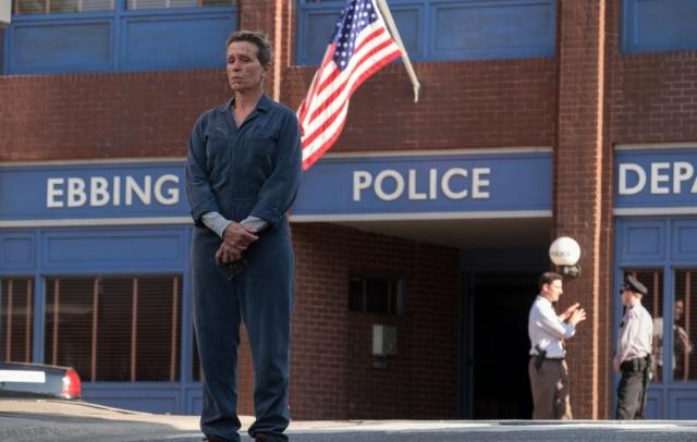 Возле участка полиции