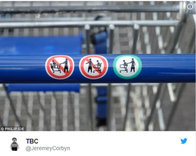 Британская сеть супермаркетов опять оказалась в центре гендерного скандала
