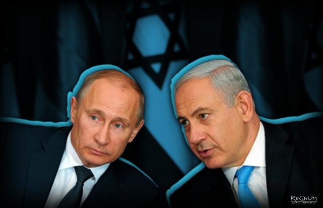 Владимир Путин и Биньямин Нетаньяху
