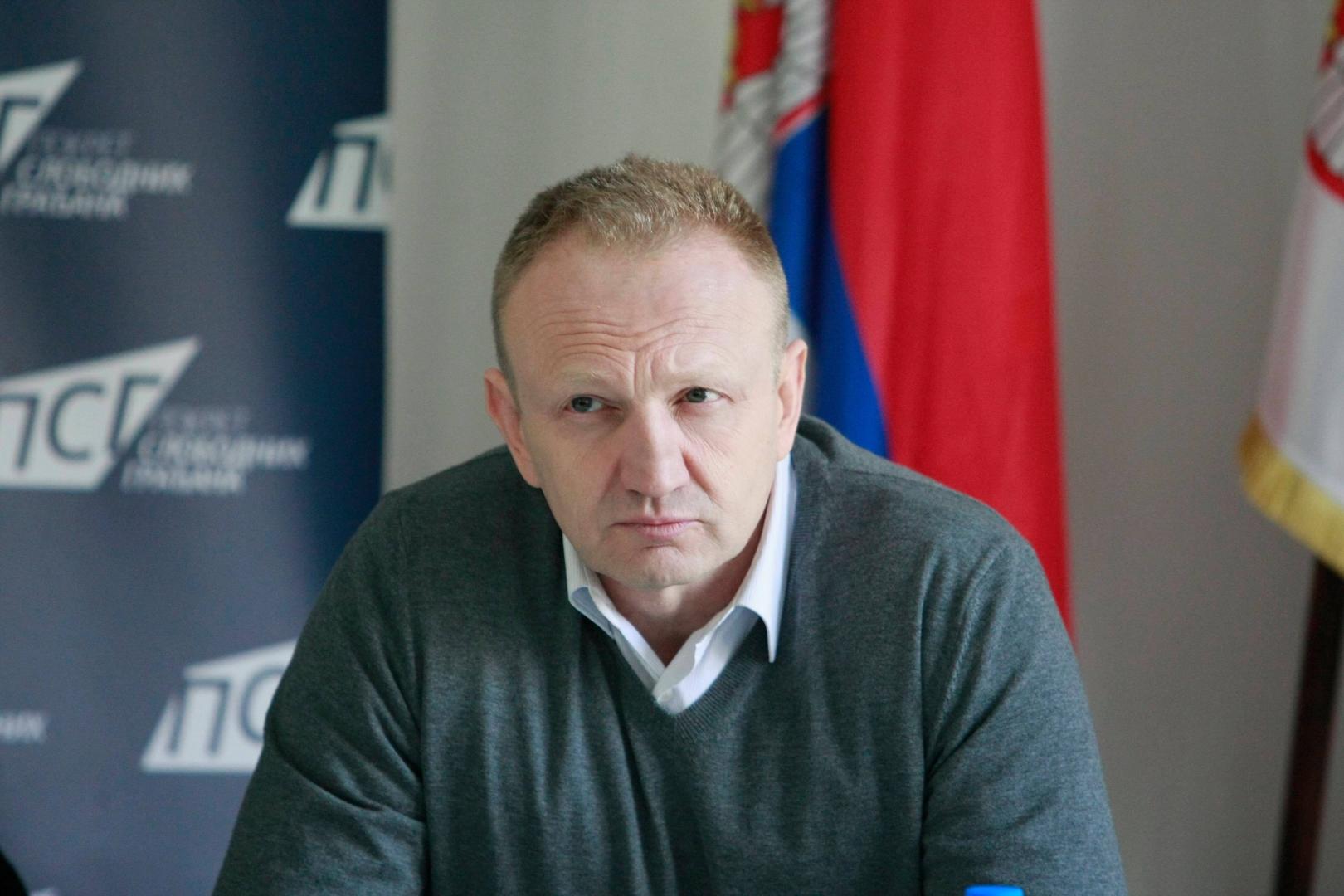 Драган Джилас, мэр Белграда в 2008—2014 гг
