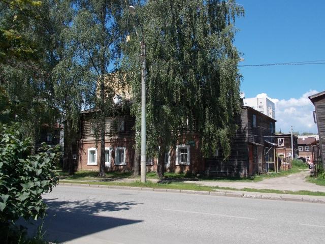 Исторический квартал «Полукамушки» в Зеленодольске