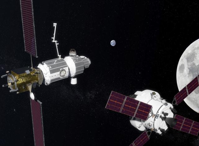 NASA: США в 2022 году начнут строить космическую станцию на орбите Луны