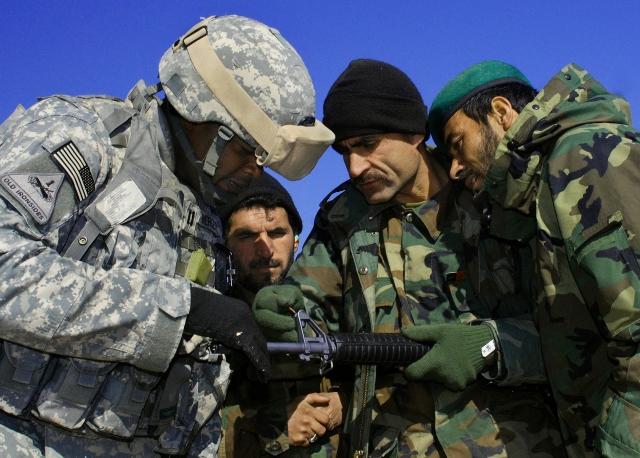 SFAB в Афганистане