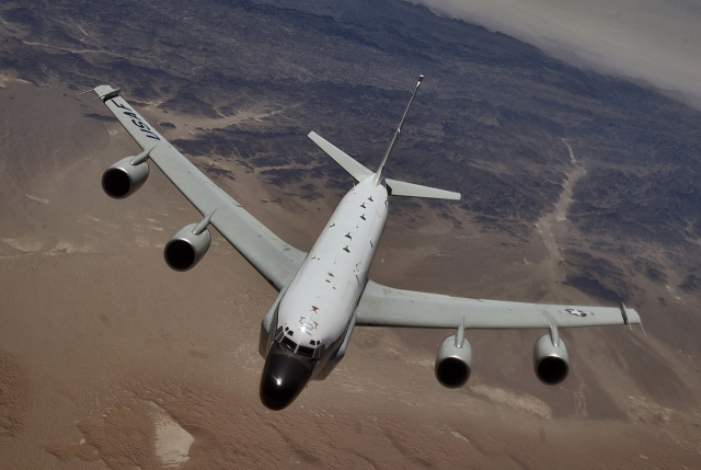 Самолет-разведчик ВВС США совершил полет у границ России