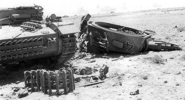 Оторванная башня немецкого среднего танка Pz IV