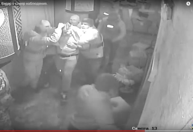 «Как похищали Саакашвили»: появились кадры с камер видеонаблюдения