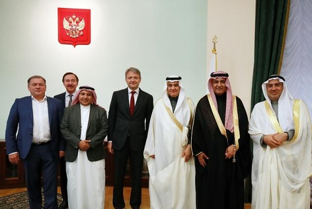 Александр Ткачев провел встречу с Министром окружающей среды, водных ресурсов и сельского хозяйства Королевства Саудовская Аравия