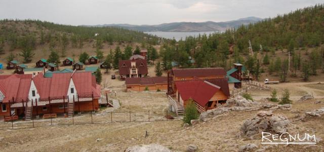 Земли населённых пунктов в Прибайкальском национальном парке