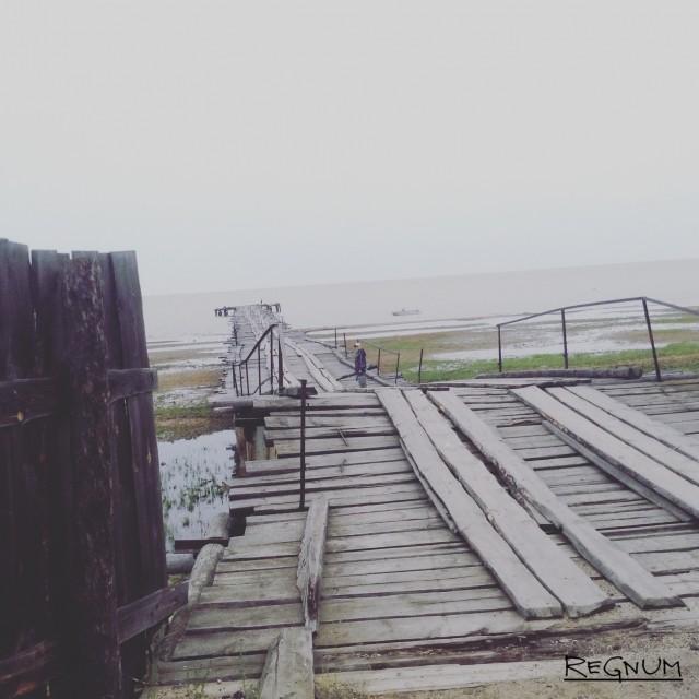 Провал Падь, воды которого впадают в Байкал. Кабанский район Бурятии
