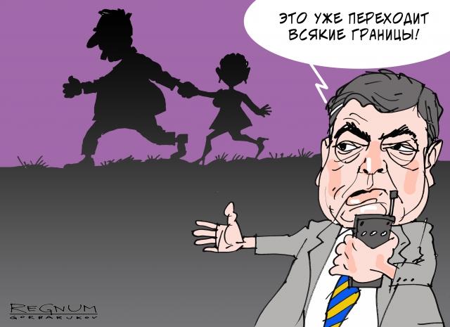 Саакашвили собирается на Киев, чтобы поменять Порошенко на Тимошенко