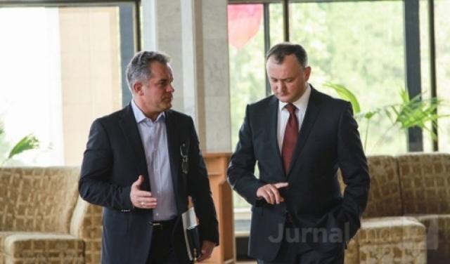 Владимир Плахотнюк и Игорь Додон