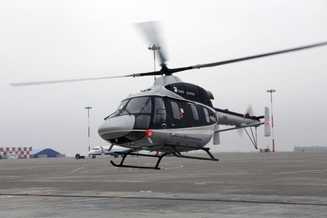 На службу костромской санавиации заступил вертолет за 222 млн рублей