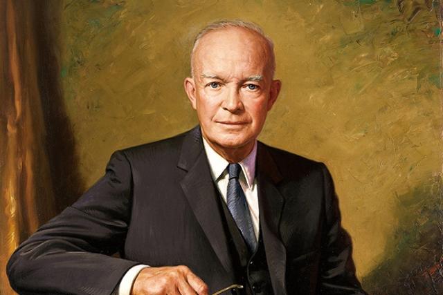 Портрет Дуайта Эйзенхауэра