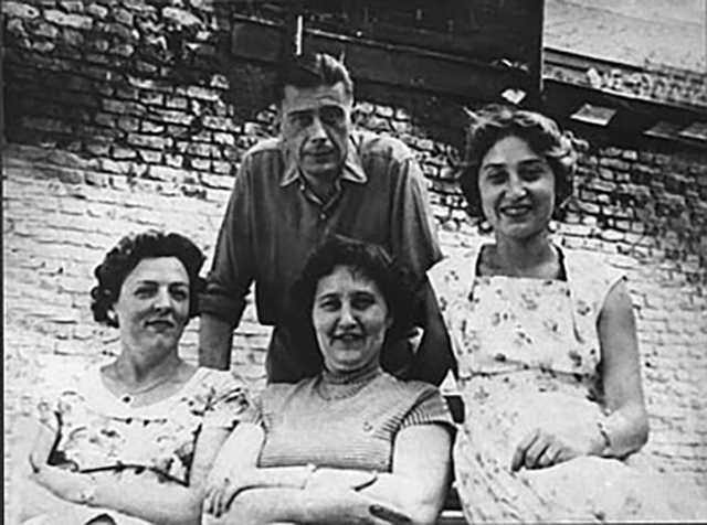 Мари Жан (жена А. Тиммерманса), Амина и Чулпан Залиловы, Андре Тиммерманс
