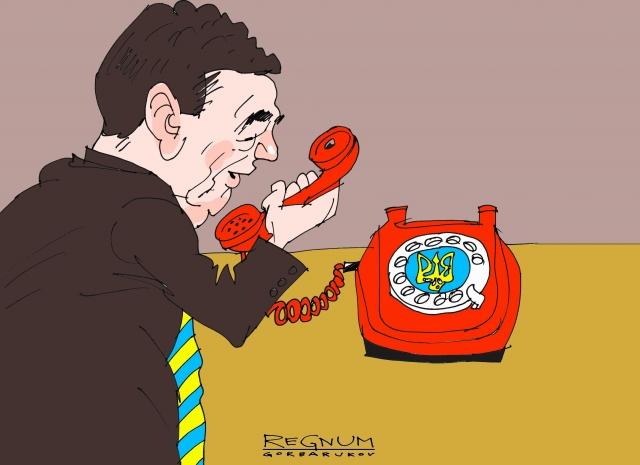 Украинские СМИ узнали о телефонном звонке Порошенко Путину