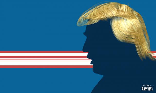 Гримасы в кривом зеркале: Трамп и пресса