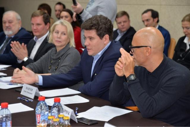 Владимир Мылышев, Александр Саблуков, Ирина Мастусова, Денис Мацуев и Федор Бондарчук