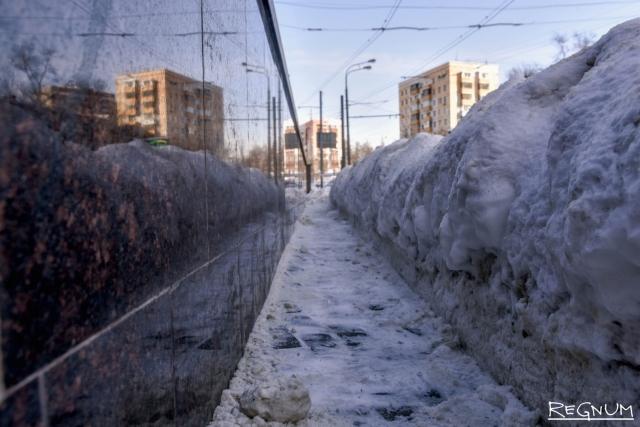 Мэрия пообещала москвичам до двух метров снега к концу зимы