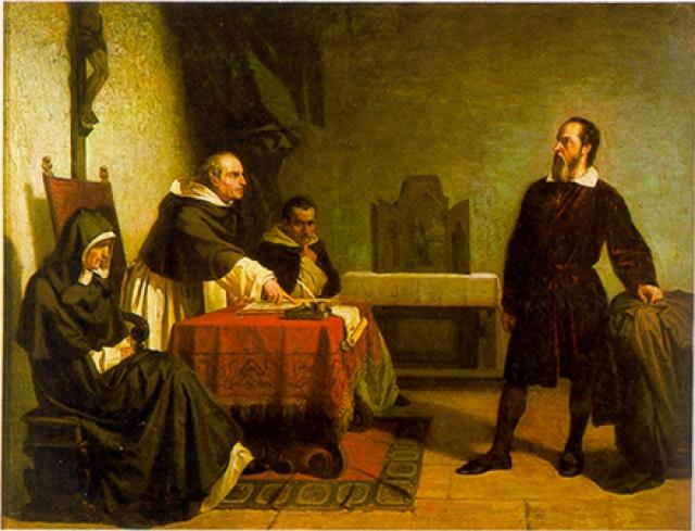 Кристиано Банти. Галилей перед Римской инквизицией