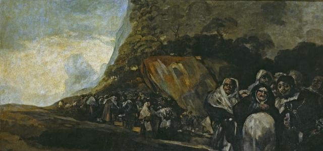 Франсиско Гойя. Паломничество к фонтану св Исидора, или Святая Инквизиция (1821-1823)
