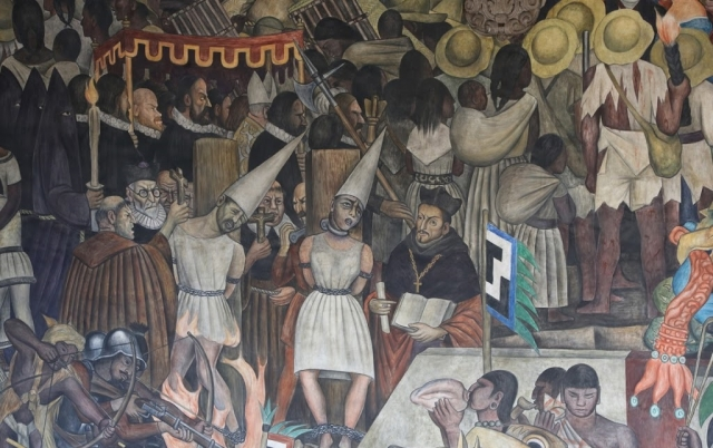 Диего Ривера. Осужденные церквью