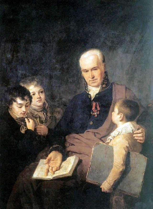 Алексей Венецианов. Портрет К. И. Головачевского