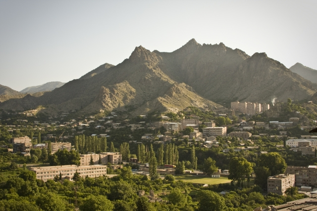 Мегри. Граница Армении и Ирана