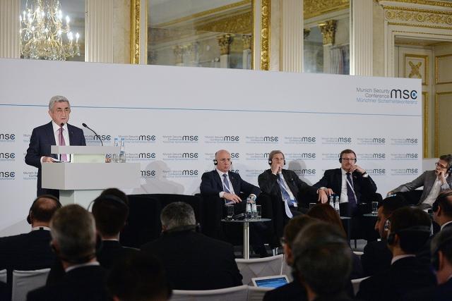 Саргсян назвал территориальные претензии бредом с возможными последствиями
