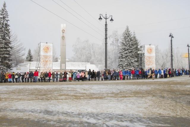 «Омск, жги»: после масленичных гуляний омичи попали в Книгу рекордов России