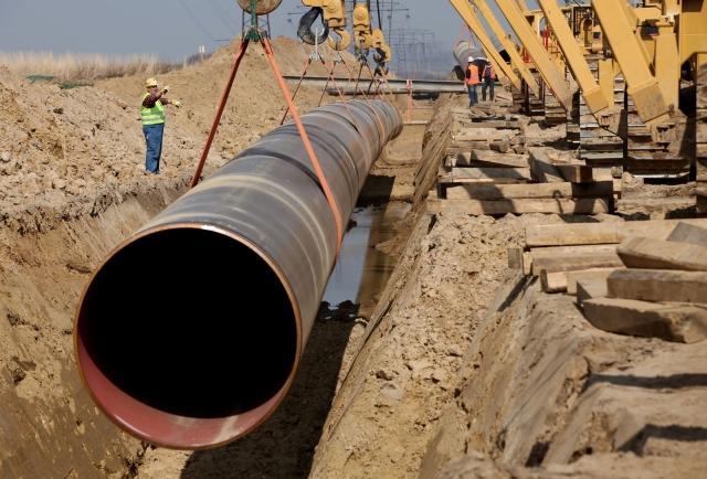 Газпром: Морская часть «Турецкого потока» построена на 48%