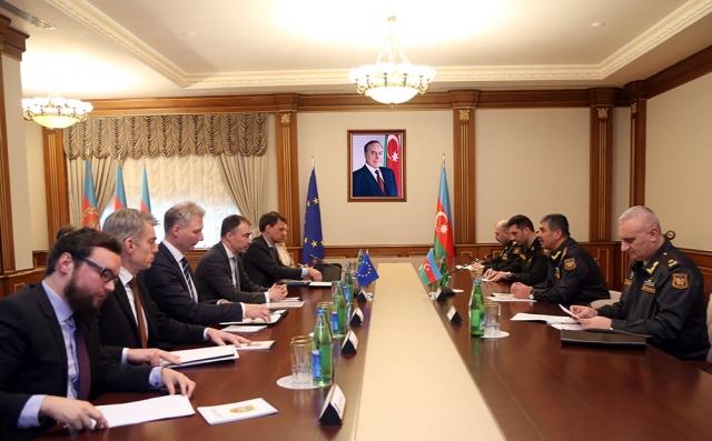 Переговоры в министерстве обороны Азербайджана