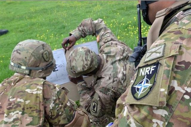 Подразделение НАТО