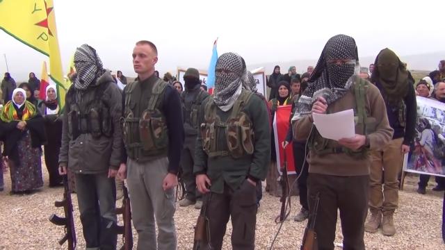 Отряды народной самообороны (YPG)