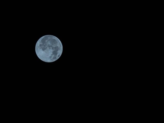 В марте жители России увидят «Голубую Луну»