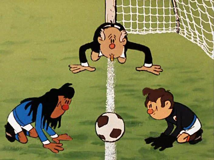 Прикольные открытки футбол