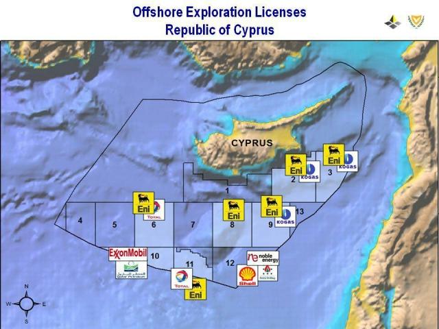Газовое противостояние на Кипре возобновляется
