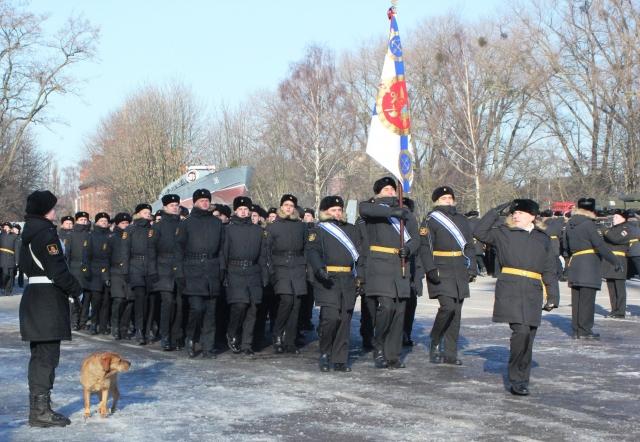 Парад войск Балтийского гарнизона