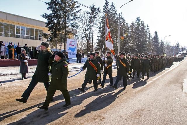Торжества в Козельске, посвященные Дню защитника Отечества и 100-летнему юбилею образования Красной Армии