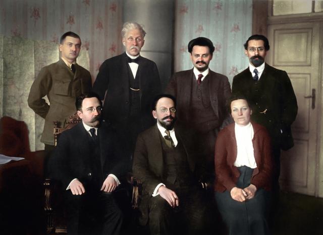 Второй состав советской делегации в Брест-Литовске. 15.01.1918