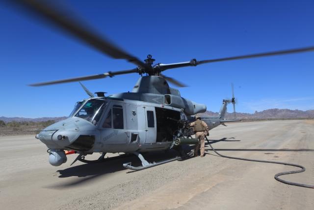 Американский матрос погиб от удара лопасти вертолета
