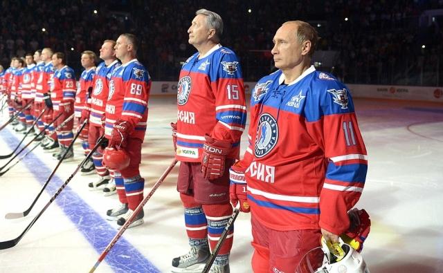 Путин поздравил олимпийских хоккеистов из России, завоевавших «золото»