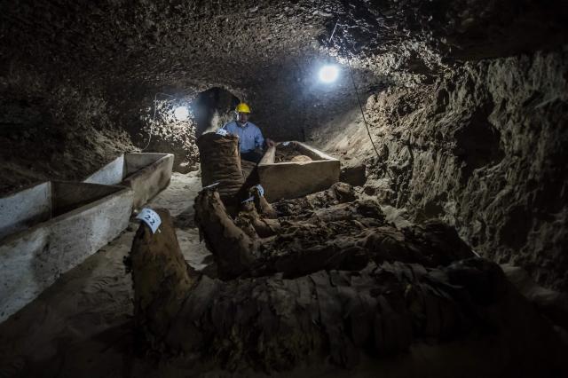 Уникальный некрополь обнаружен к югу от Каира