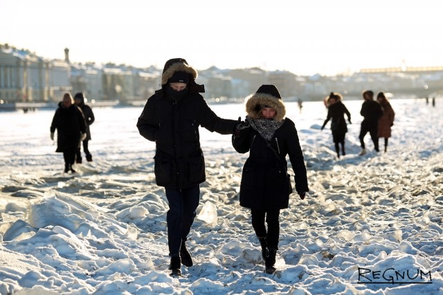 Петербургская прогулка зимой