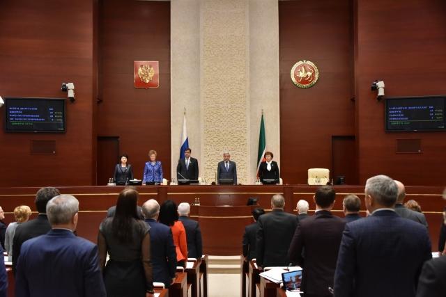 Заседание Госсовета Татарии