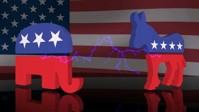 Противостояния демократов и республиканцев в США